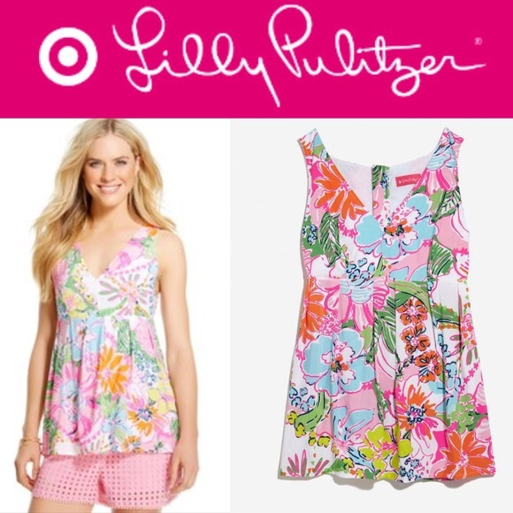 b10d707f3a Lilly Pulitzer for Target Tops